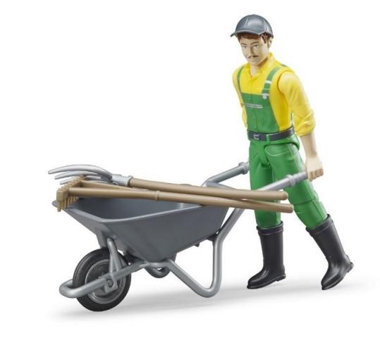 Bruder - Farmář s příslušenstvím