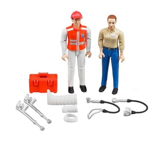 Bruder - Figurky zdravotnický set