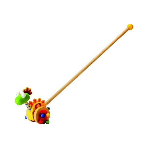 Dřevěné hračky - Jezdík – dinosaurus