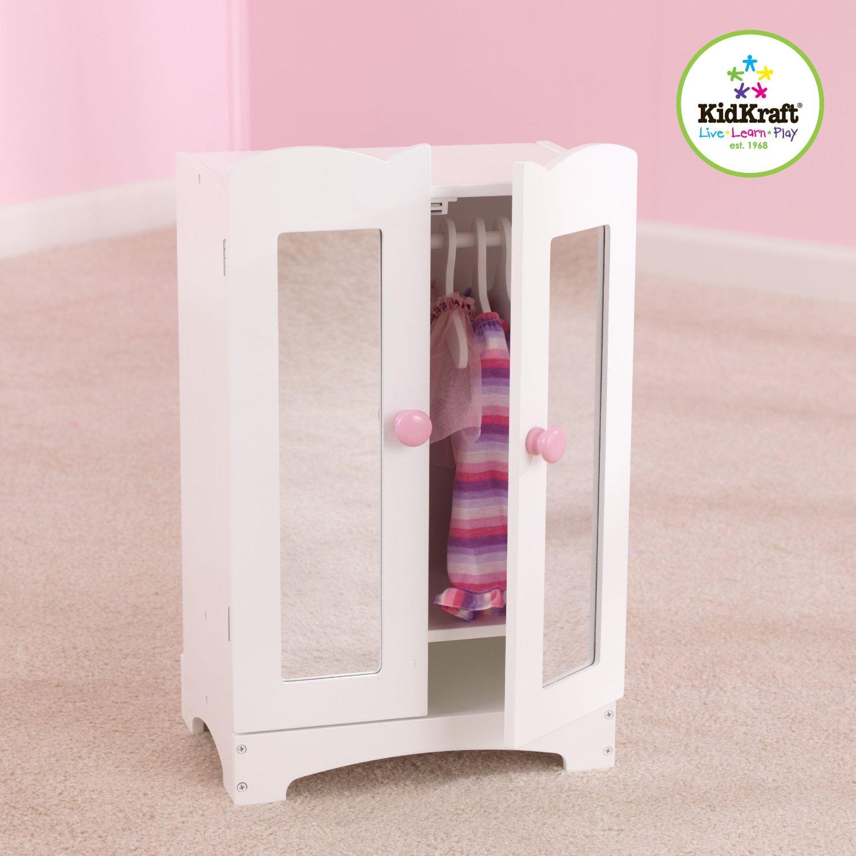 KidKraft - Dřevěná skříň pro panenky Armoire