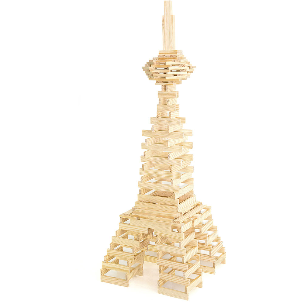 Jeujura Drevená stavebnica Tepac 200 dielov