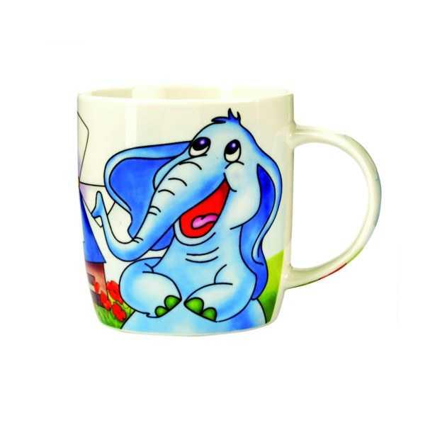 Porcelánový hrnček - Slon