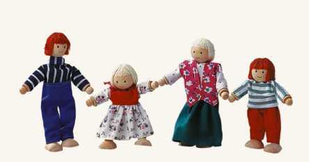 Bino Bábiky do domčeka - Rodina