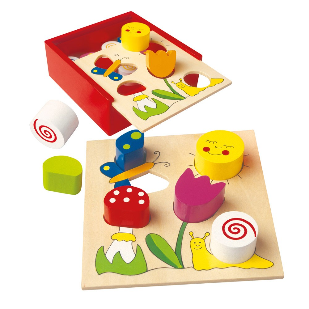 Bino Moje prvé puzzle - Bella Florina