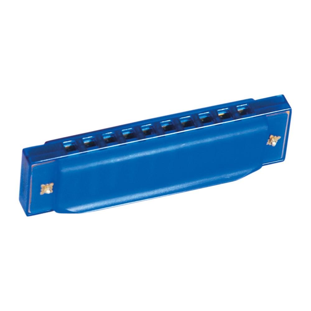 Bino Fúkacia harmonika modrá