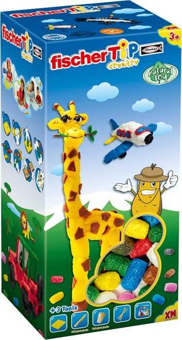 Small Foot Kreatívna hračka Fischer TiP Box XM
