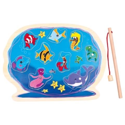 Bino puzzle - Akvárium s prutem