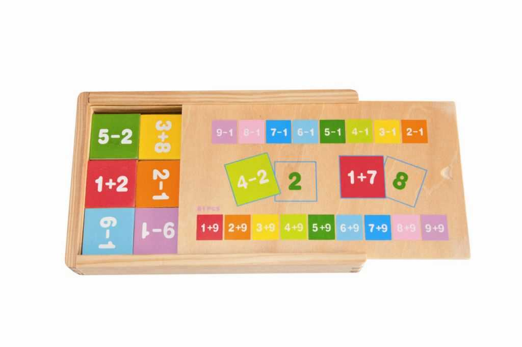 Školní pomůcky - Krabička se sčítáním a odčítáním