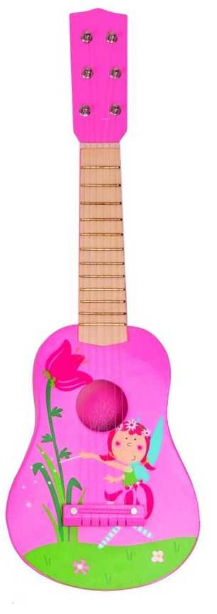 Dřevěné hračky Woody - Dětské nástroje - Kytara - Víla