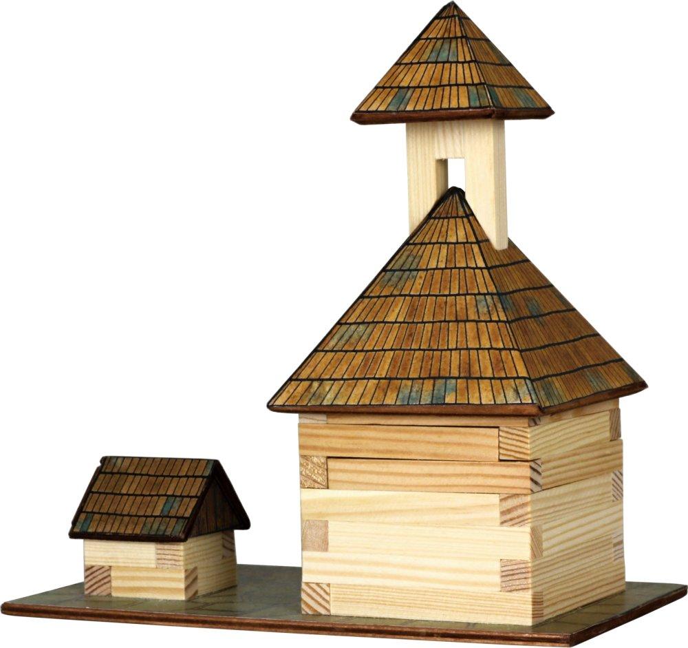 Walachia drevená zlepovacia stavebnica Zvonica a studňa