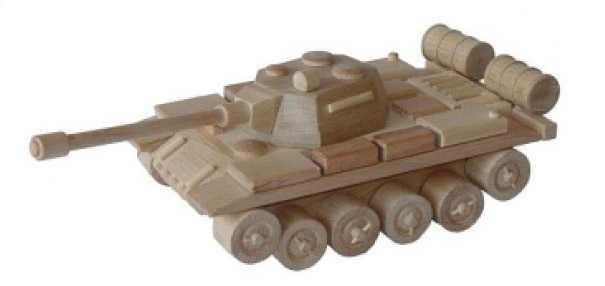 Ceeda Cavity - přírodní dřevěné auto - Tank - ruský