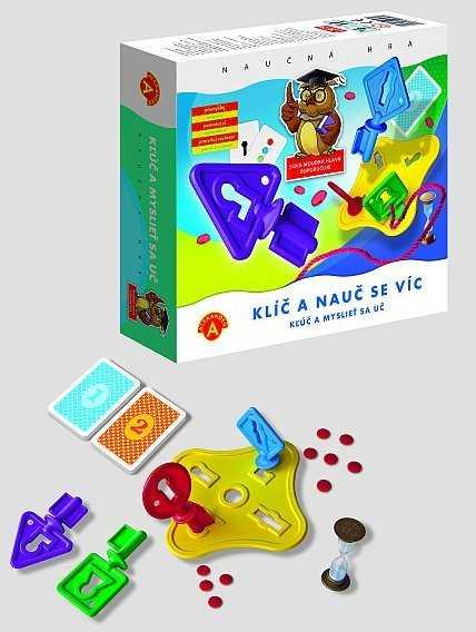 Dětské hry - Klíč a nauč se víc