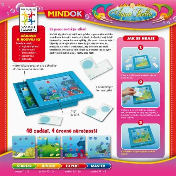 Dětské hlavolamové smart hry - AquaBella