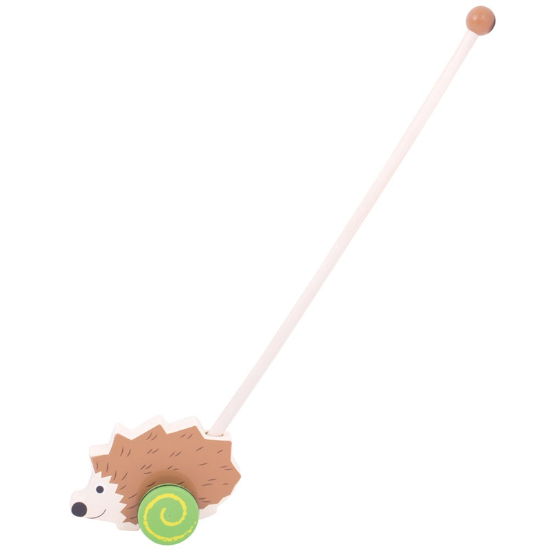 Bigjigs Toys Dřevěný jezdík Ježek