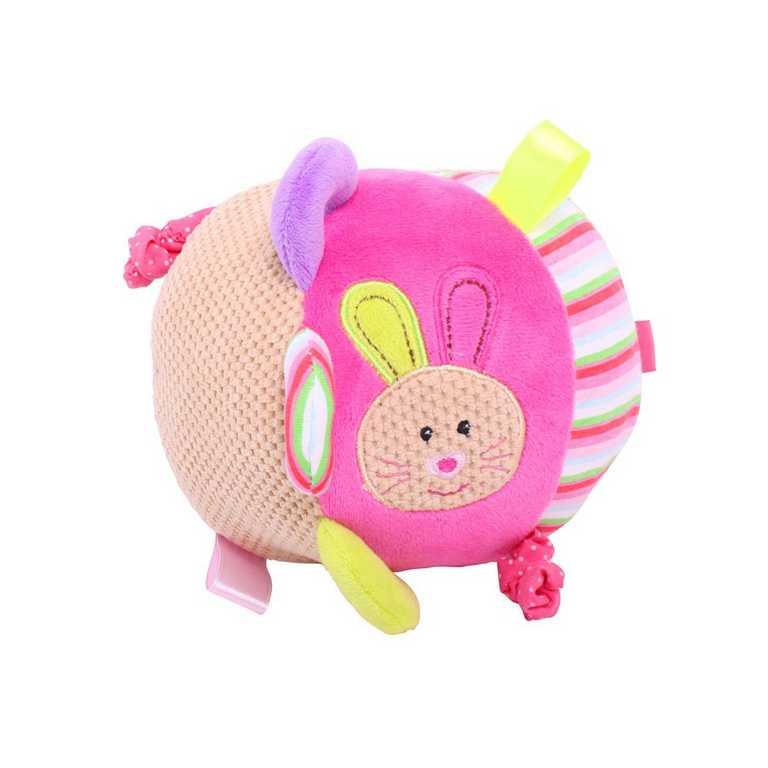 Bigjigs textilní motorická koule - Králíček Bella