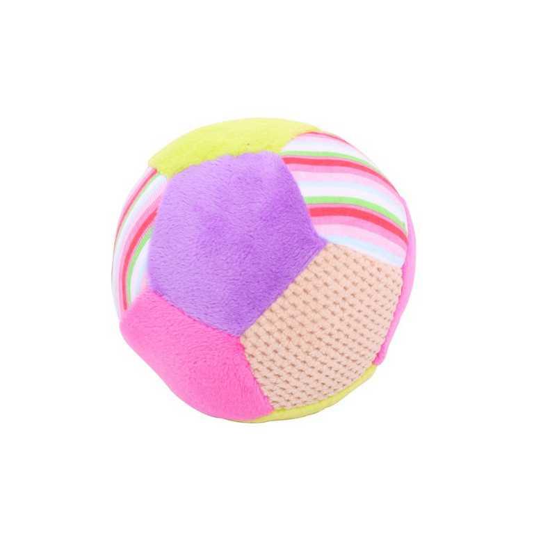 Bigjigs Toys textilní hračka - Chrastítko balónek Bella