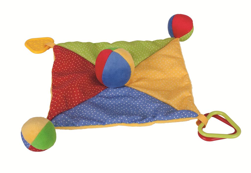 Bigjigs Toys textilní muchlánek