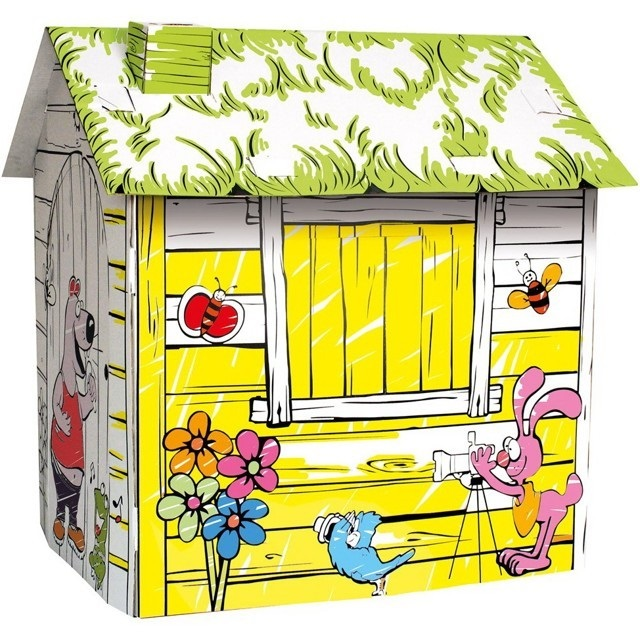 Kartonový domek - farma
