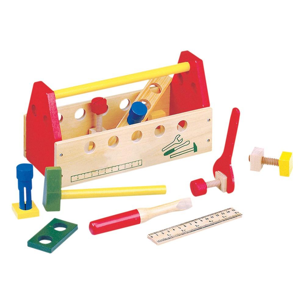 Dřevěné hračky - Pracovní stůl - Pracovní brašna