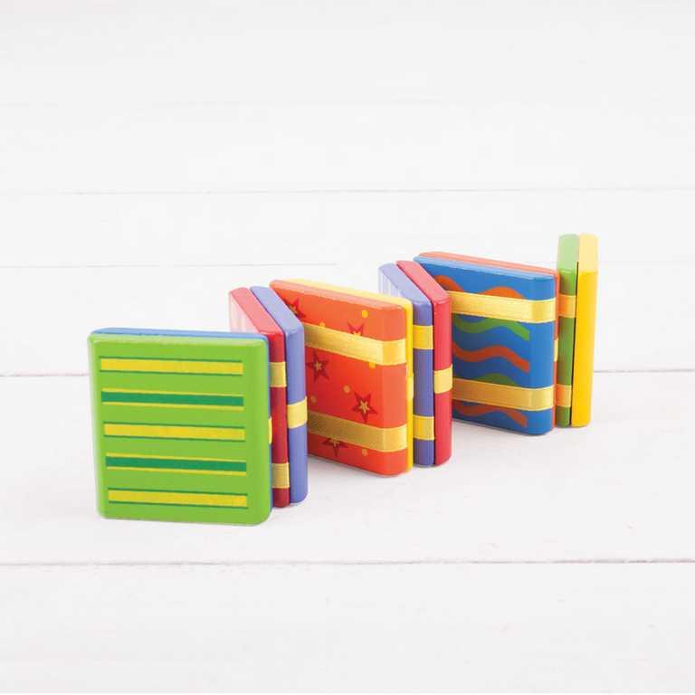 Dětská dřevěná hra - Barevné kouzlo