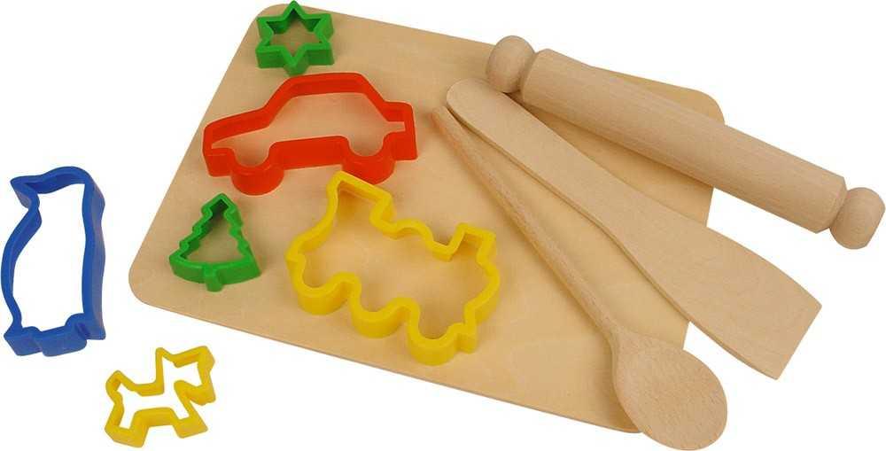 Bigjigs Toys Set na pečenie s vykrajovátkami