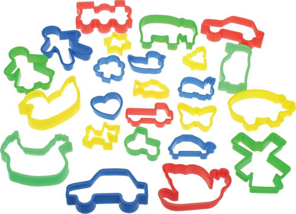 Kreativní hračky - Vykrajovámí těsta