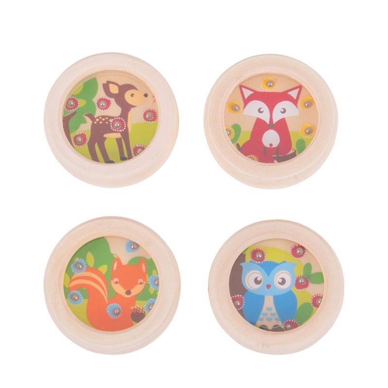 Bigjigs Toys hra minilabyrint zvířátka 1ks liška