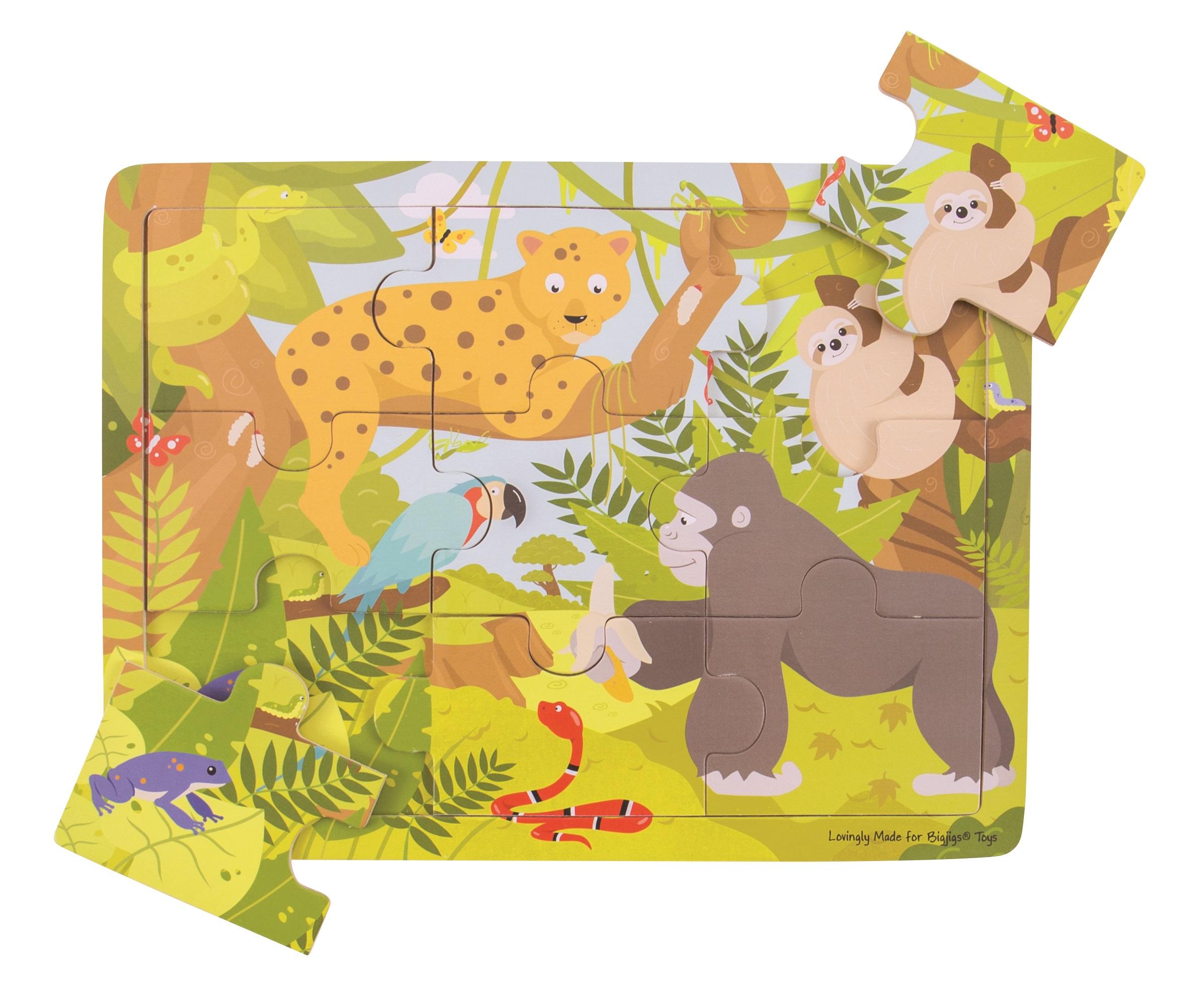 Bigjigs Toys puzzle - Jungle