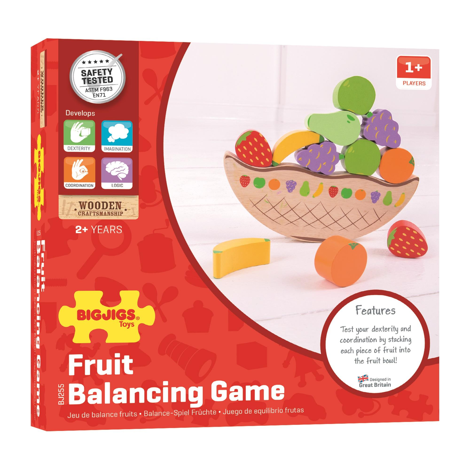 Bigjigs Toys Balančná hra Ovocie