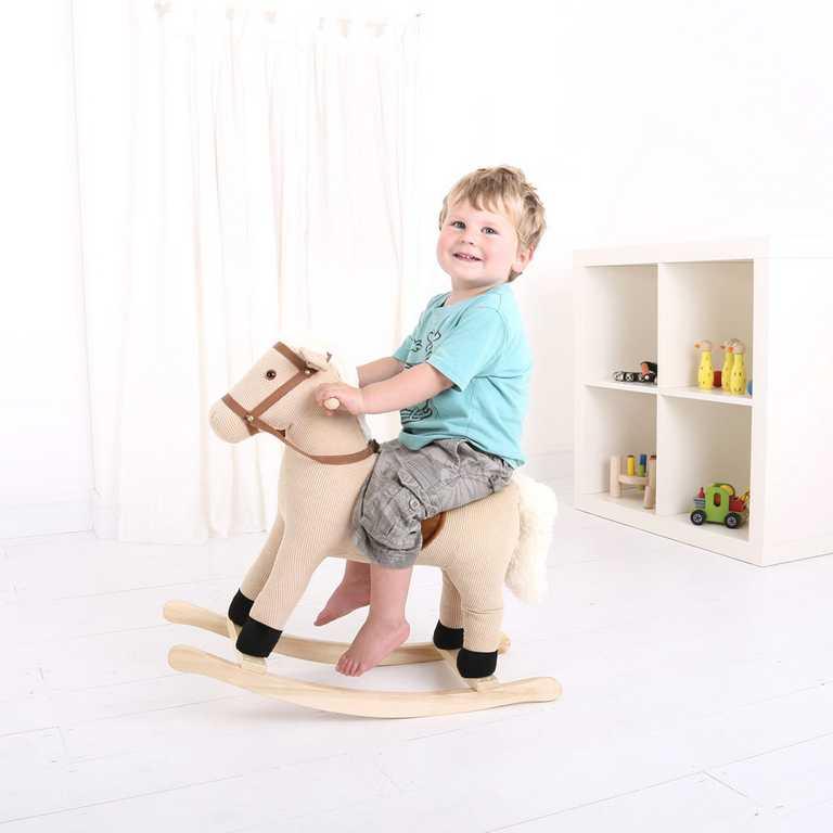 Bigjigs dřevěný houpací kůň