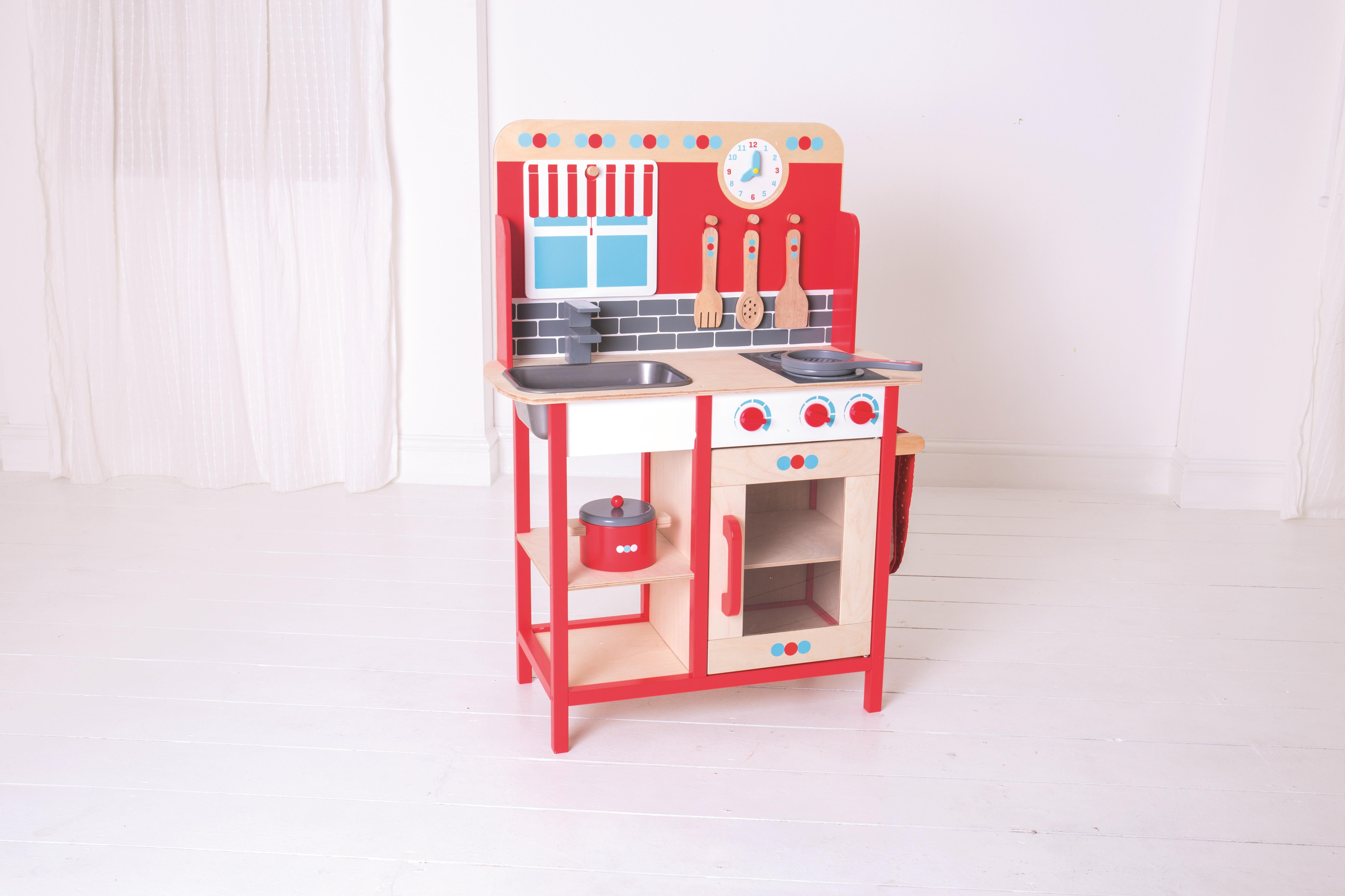 Bigjigs Toys dřevěná dětská kuchyňka