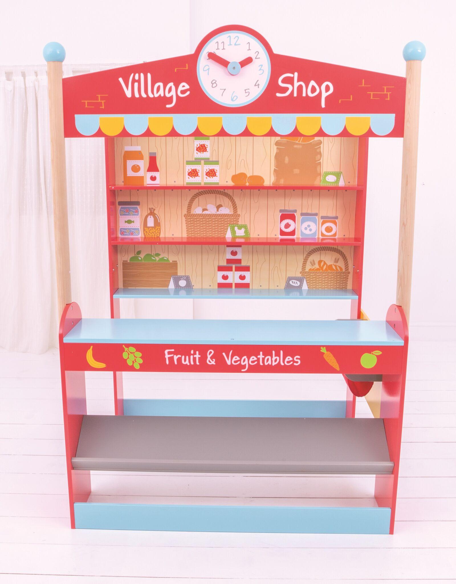 Bigjigs Toys Dřevěný obchod Village