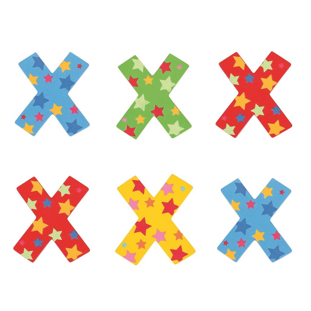 Bigjigs Toys hvězdičkové písmenko X