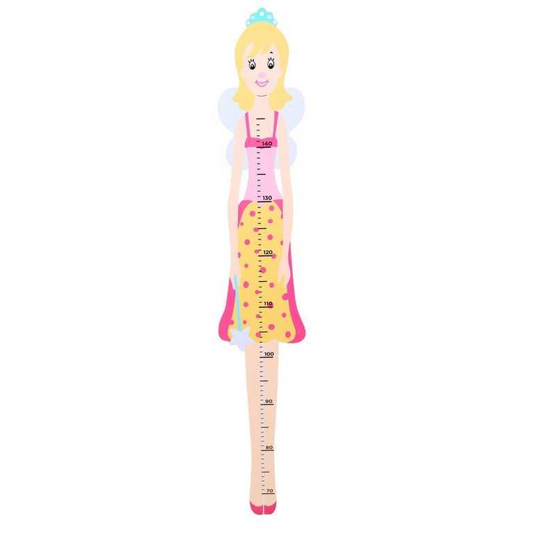 Bigjigs Toys dětský dřevěný metr - víla