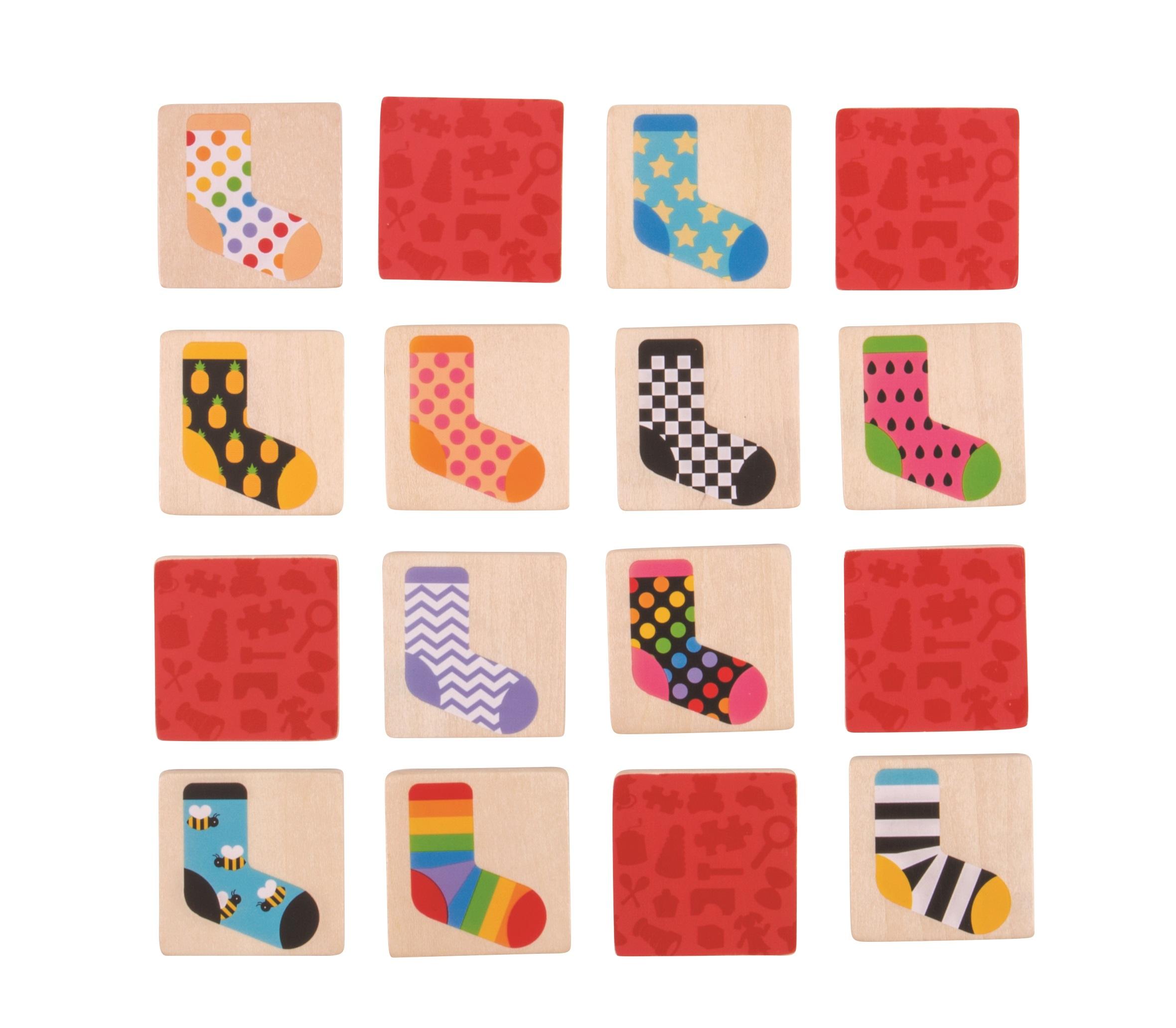 Bigjigs Toys ponožkové pexeso