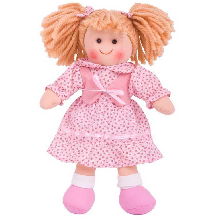 Bigjigs Toys látková panenka Sophie 25 cm