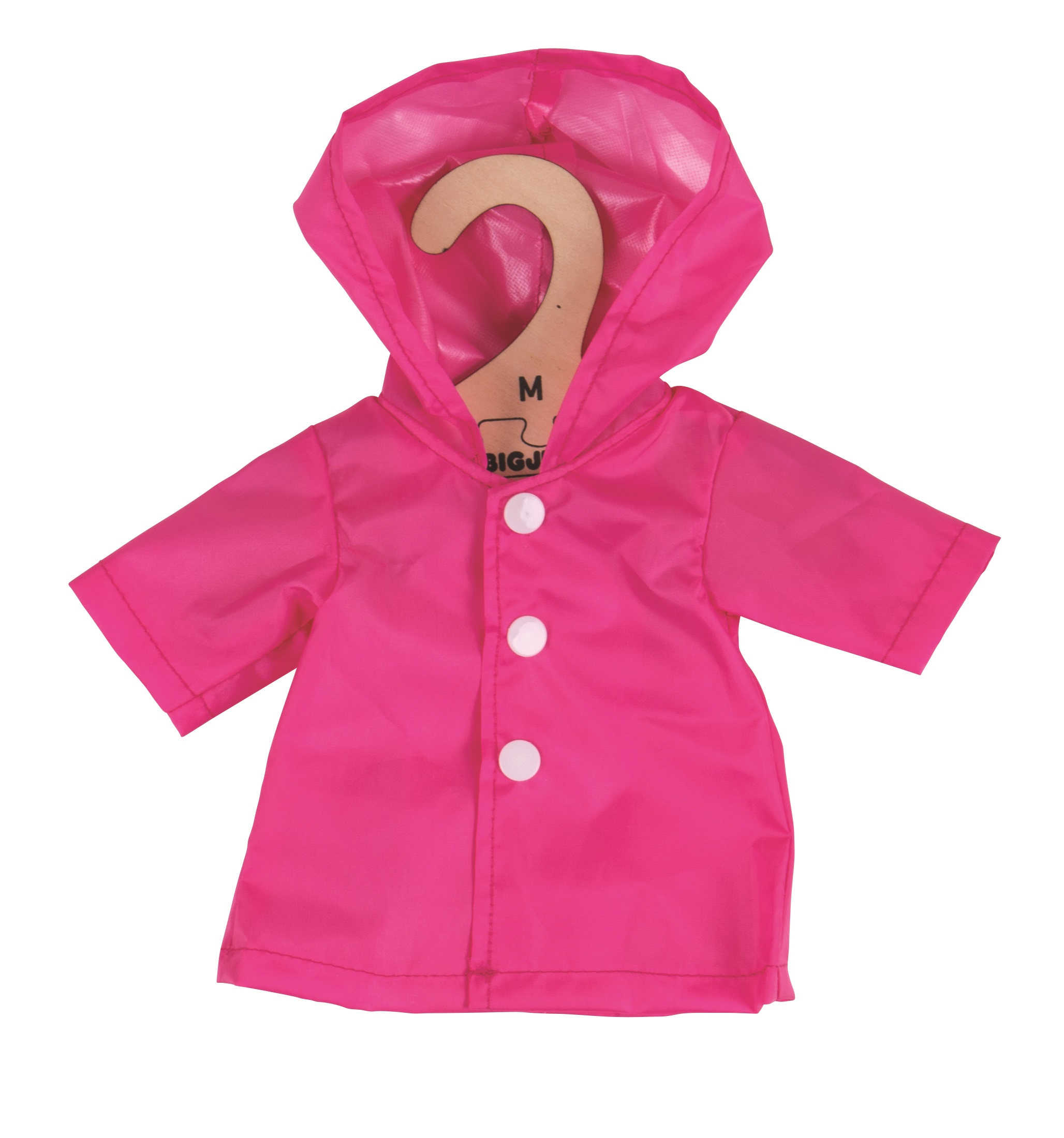 Bigjigs Toys růžový kabátek  pro panenku 34 cm