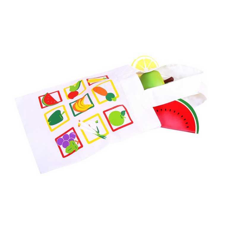 Bigjigs Toys nákupní taška na potraviny