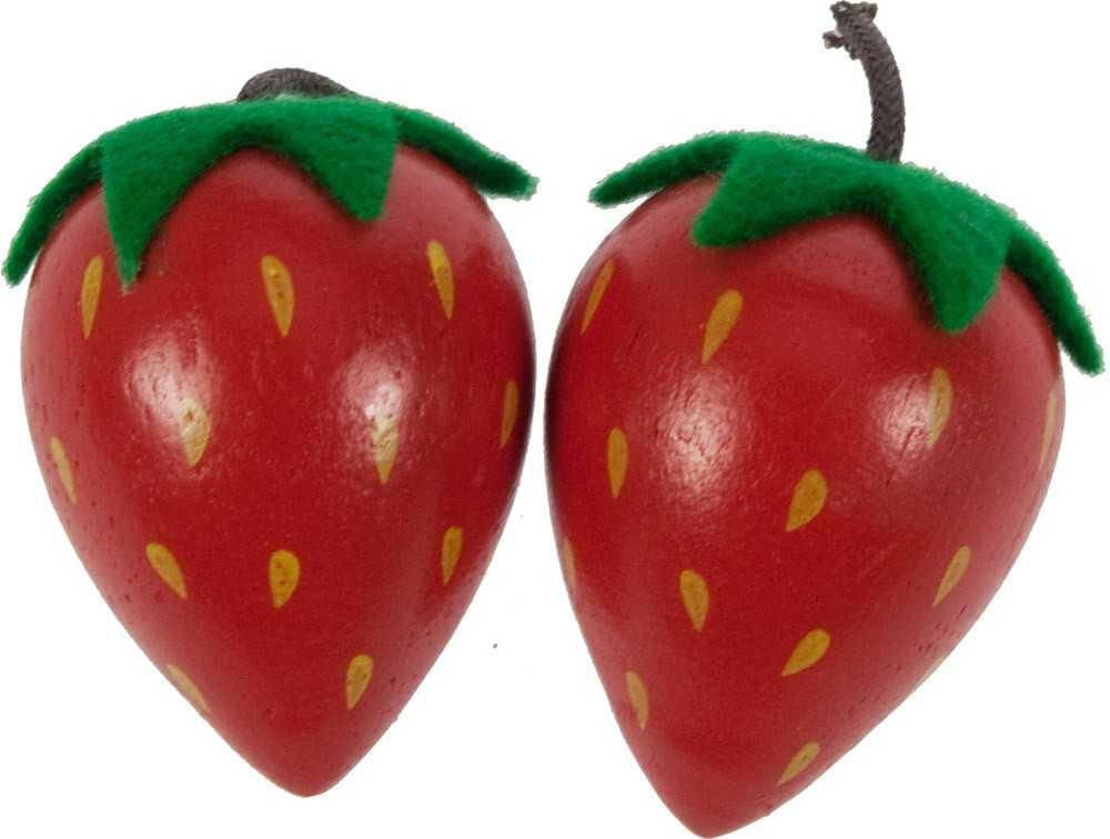 Bigjigs Toys dřevěné potraviny - Jahoda 1ks