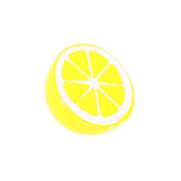 Bigjigs Toys dřevěné potraviny - Půlka citrónu