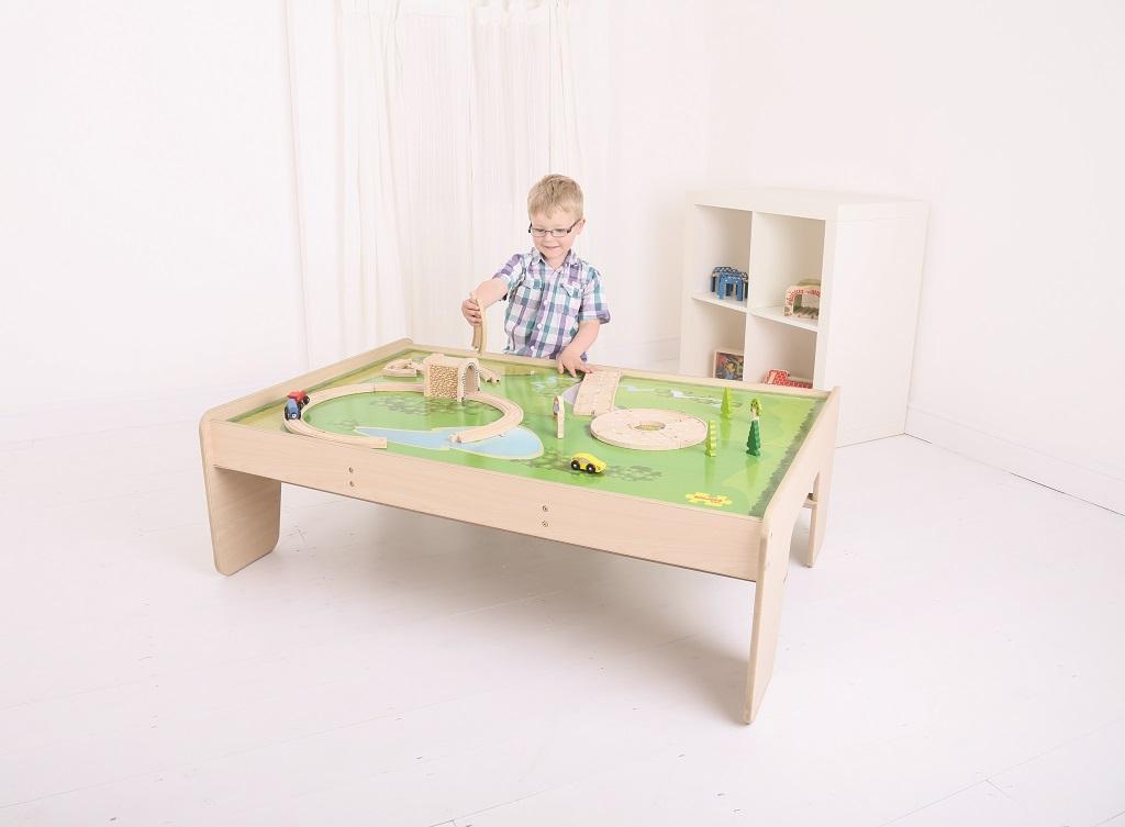 Bigjigs Rail stůl pro vláčkodráhu