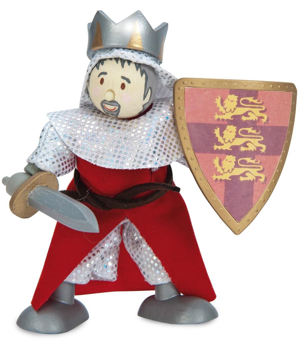 Le Toy Van postavička - Král Richard Lví srdce