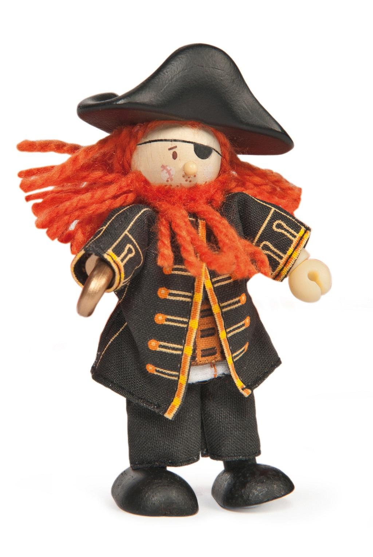 Le Toy Van postavička - Pirát Barbarossa