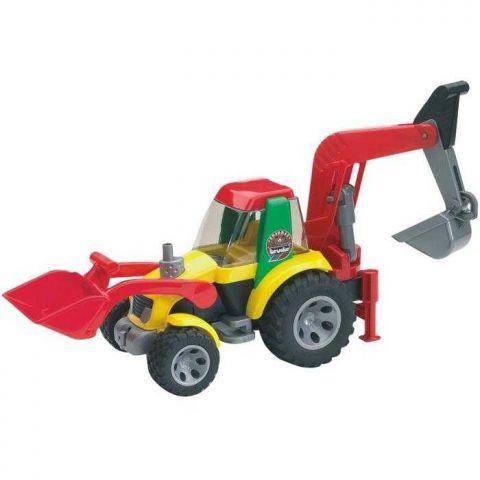 Bruder Roadmax - Traktor - nakladač - bagr- poškozený obal
