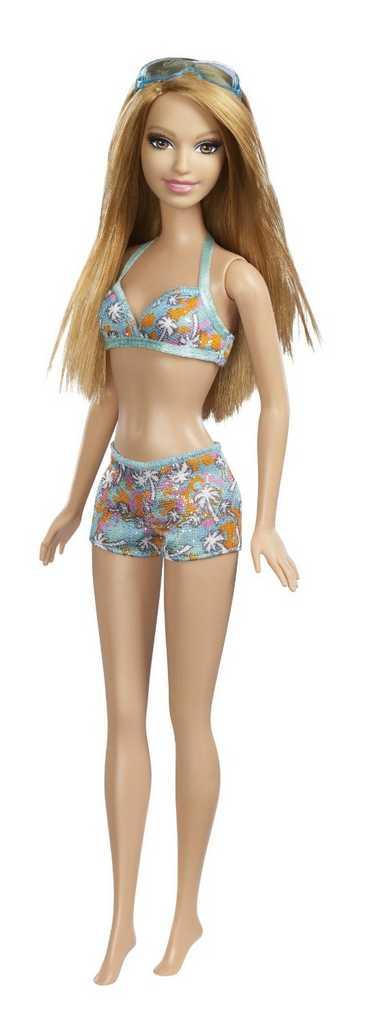 Panenka Barbie plážová summer BCN25