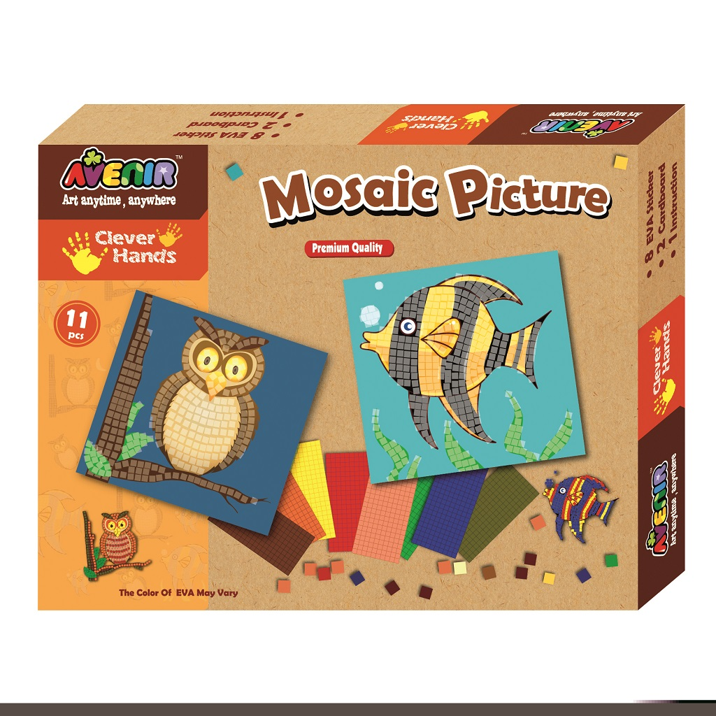 Udělej si mozaikový obrázek