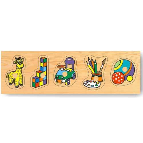 Dřevěné hračky - Vkládací puzzle - Vkládačka - Hračky doma