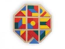 Dřevěné hračky - Mozaika kosočtverec