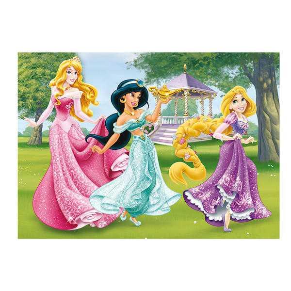 Papírové puzzle 24 dílků maxi Princezny