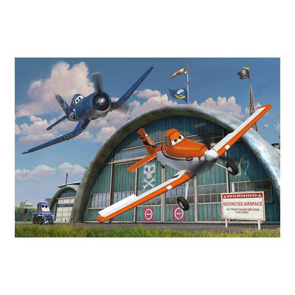 Papírové puzzle 66 dílků Letadla